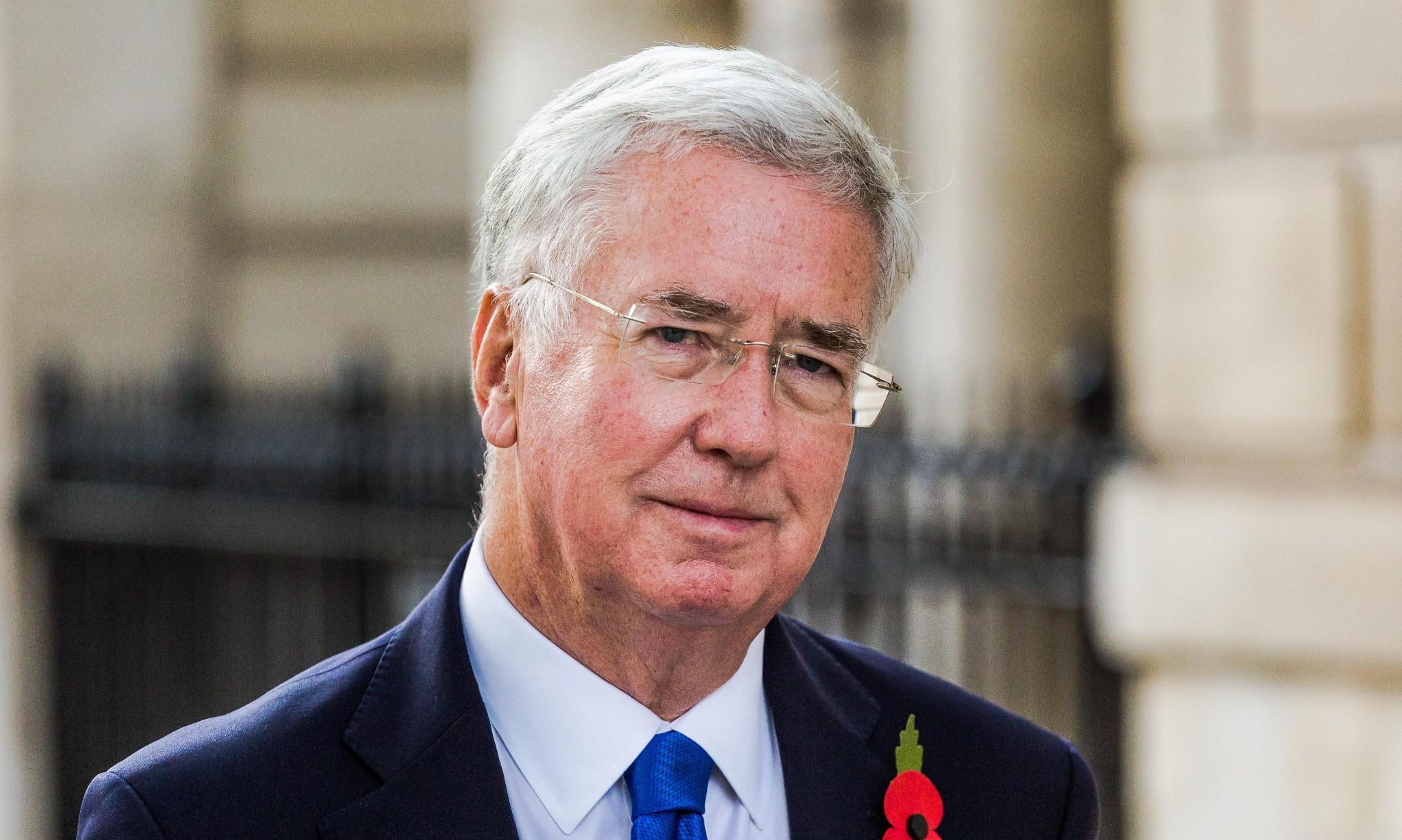 Michael Fallon quits as defence secretary, saying his behaviour has 'fallen short'