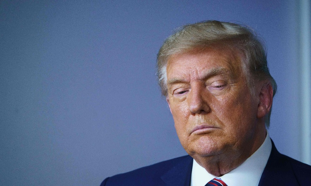 Trump's coup failed – but US democracy has been given a scare