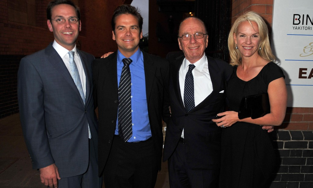 How departure of James laid bare the Murdoch family rifts