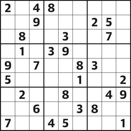 Sudoku 4,915 easy