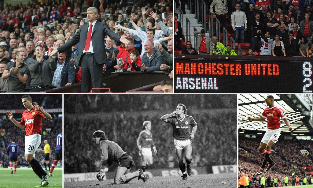 Arsenal have specialised in failure at Old Trafford for decades