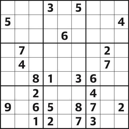 Sudoku 4,826 expert