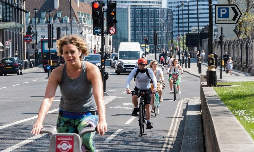 Two wheels good … Bike sales soar as UK takes to cycling
