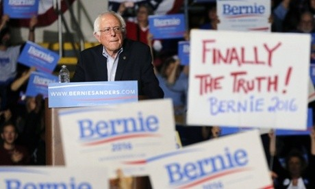 Bernie Sanders thrills Boston with call to fight racism and reform gun law