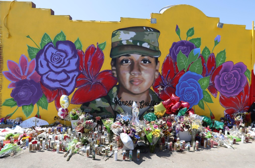 'We are Vanessa Guillén': killing puts sexual violence in US military in focus