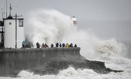Storm Dennis: anger and fear across UK as second storm wreaks havoc