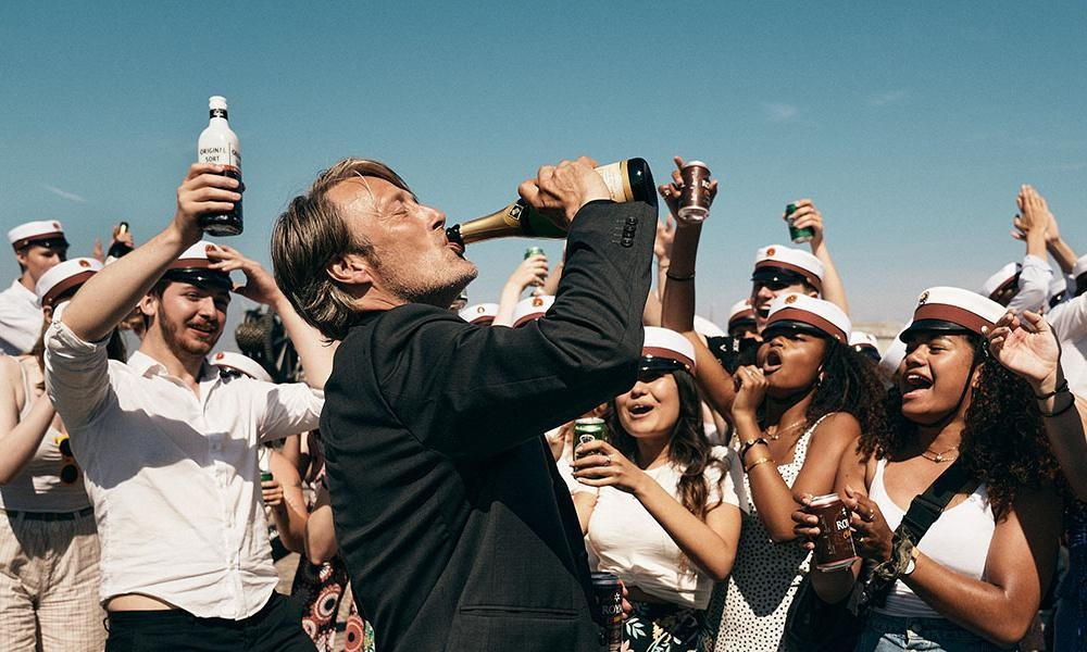 Another Round review – Mads Mikkelsen anchors boozy tragicomedy