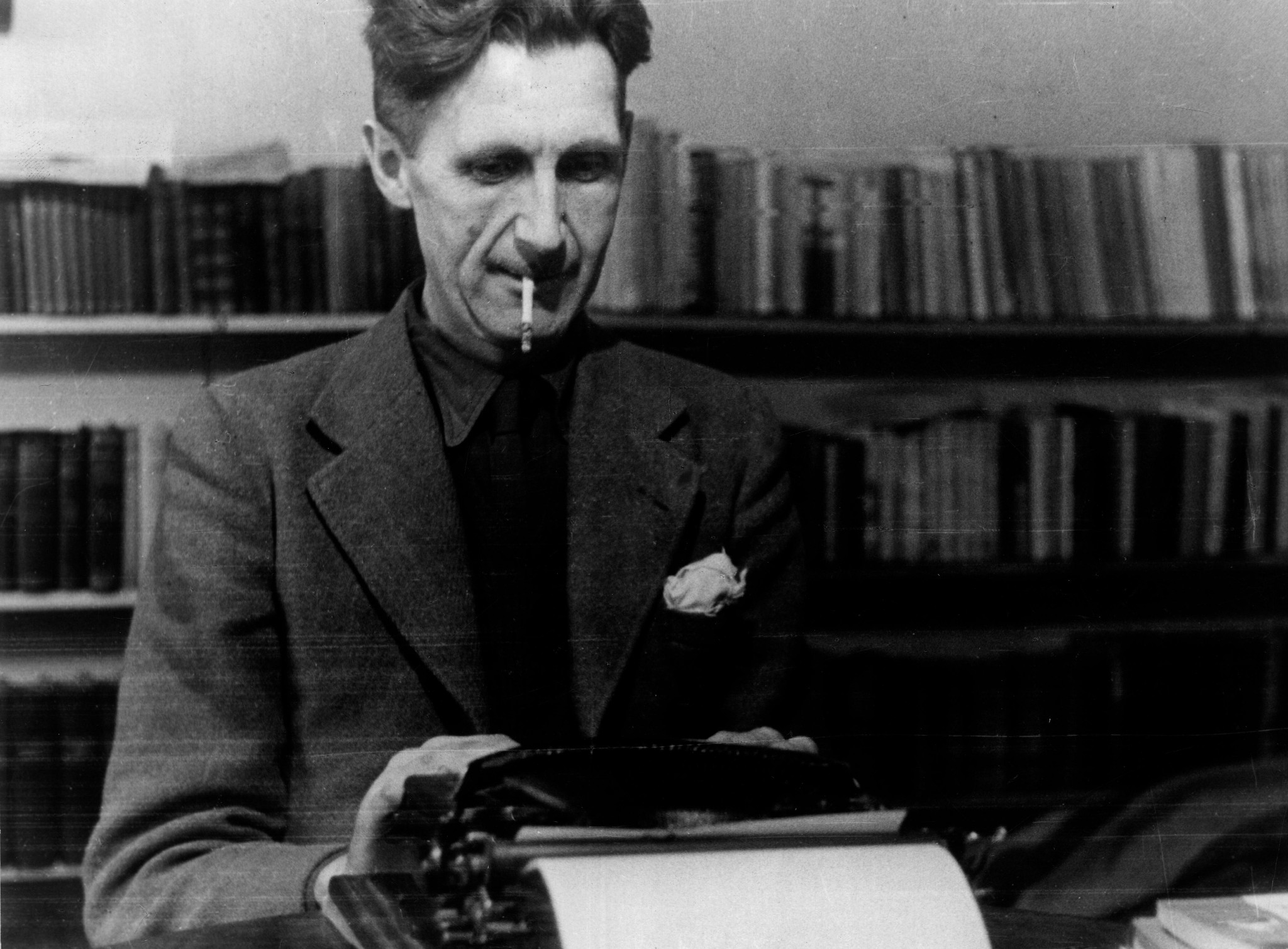 Welcome to dystopia – George Orwell experts on Donald Trump