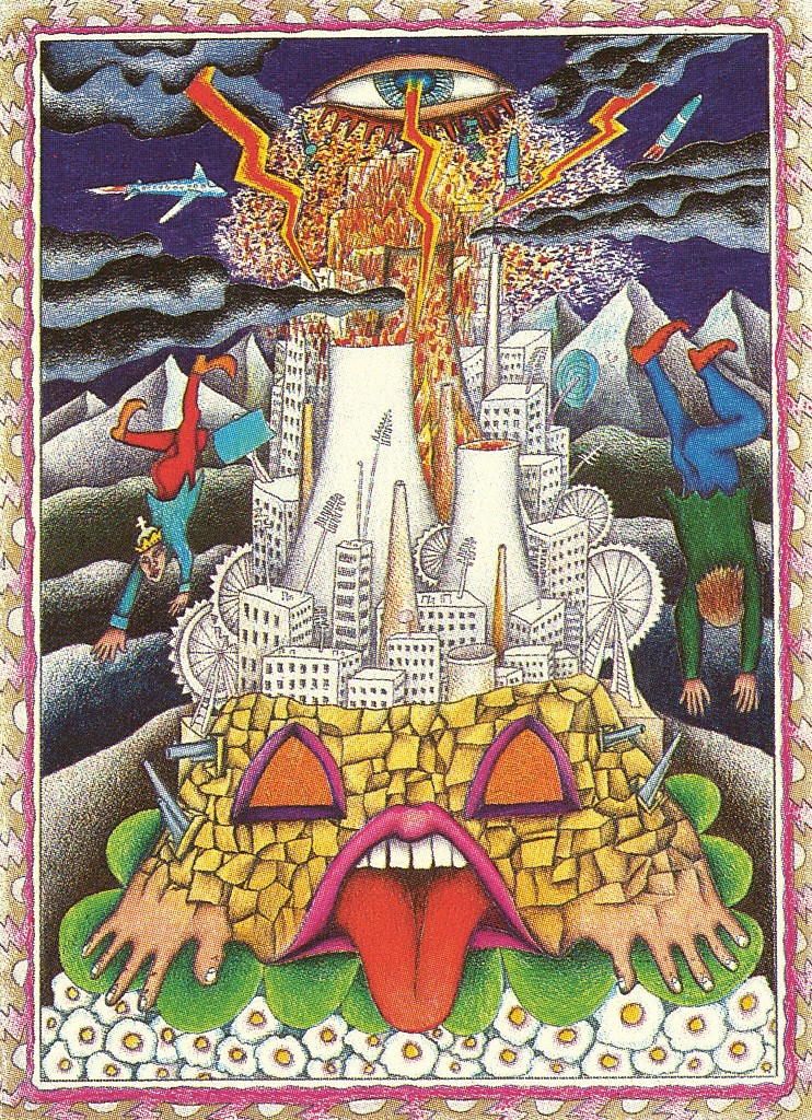 Walter Wegmüller's The Tower: the all-seeing eye of providence