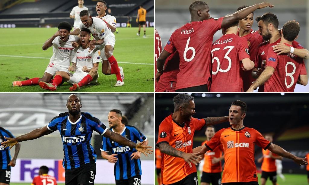 Europa League semi-final previews: Sevilla v Man Utd and Inter v Shakhtar