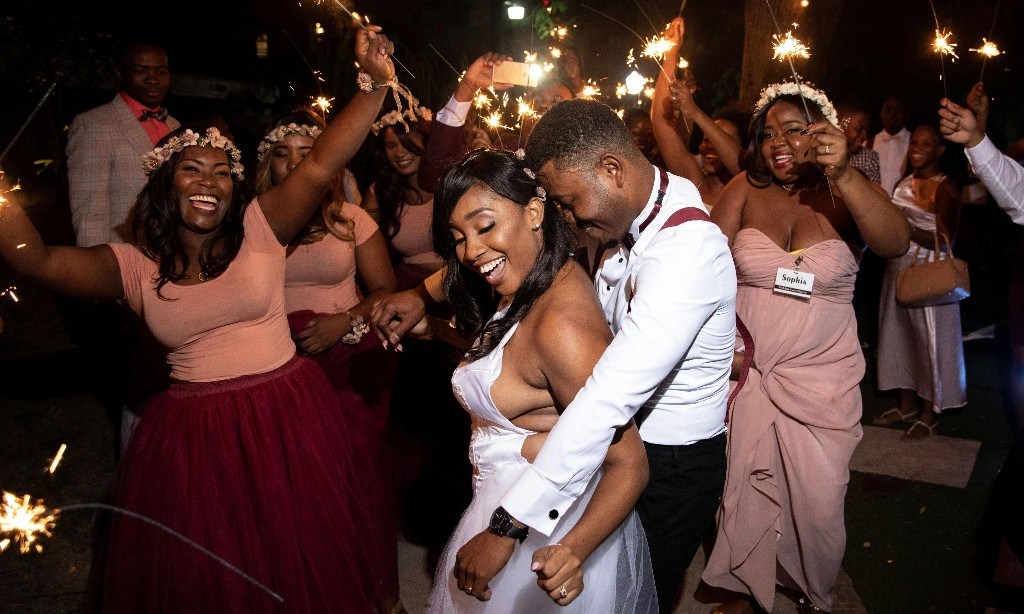 'I was stressed but happy': weddings, Haitian style – a photo essay