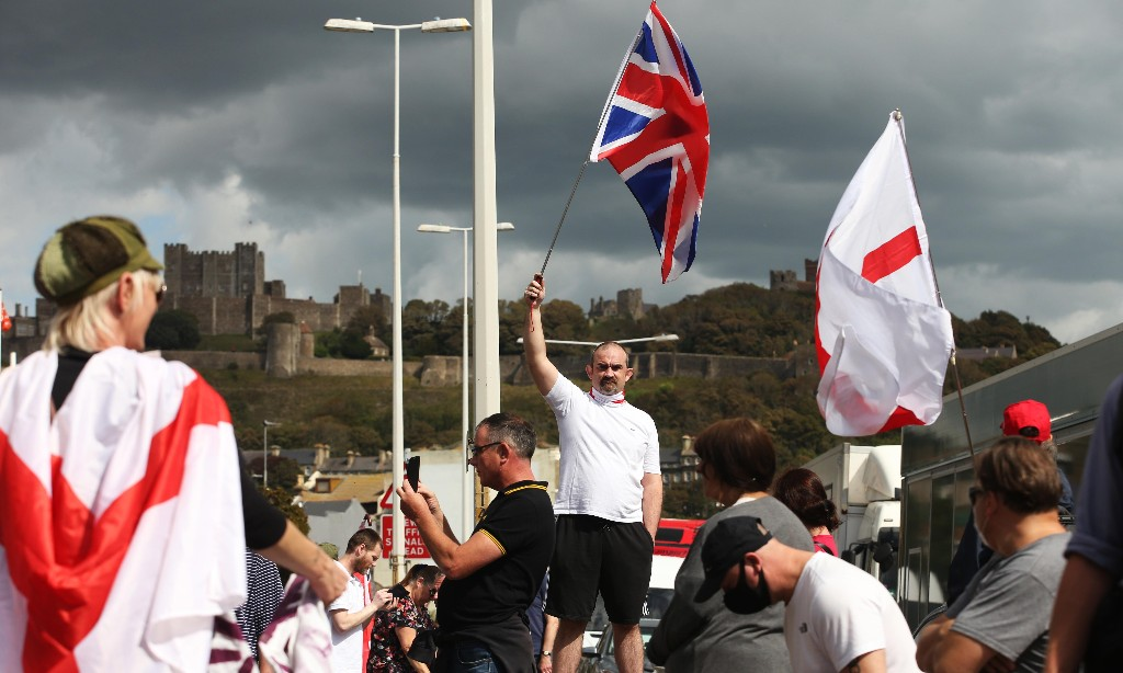 Port of Dover is brought to a standstill by far-right groups