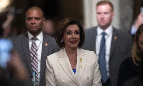 Facebook and Twitter reject Pelosi's request to remove edited Trump video