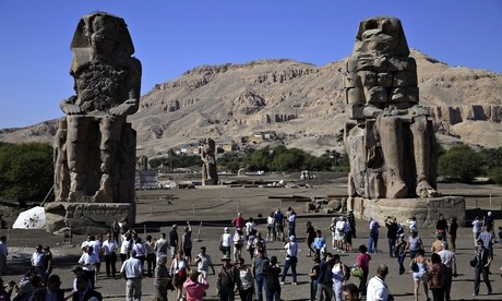 Pharaoh's statue restored 3,200 years after collapse in earthquake