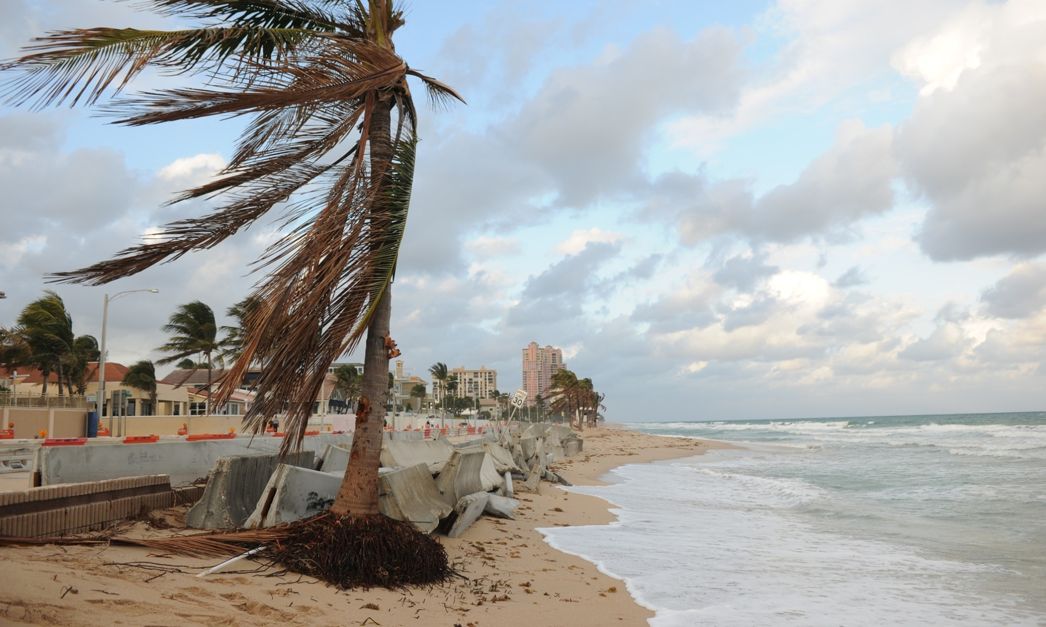 World's beaches being washed away due to coastal development