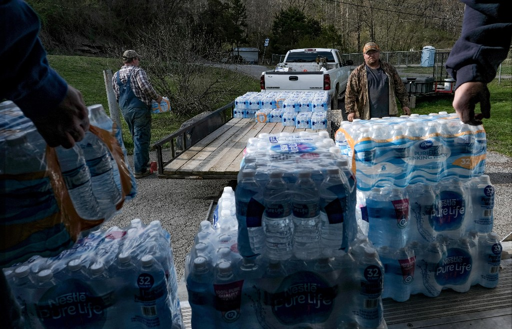 'It smells bad, it tastes bad': how Americans stopped trusting their water
