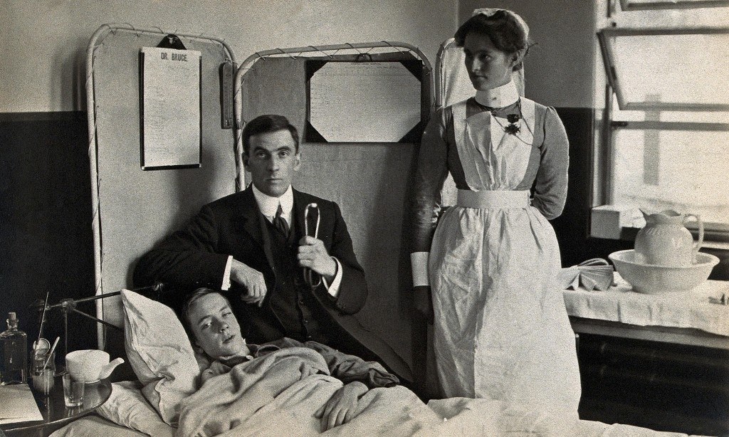 'Nurses fell like ninepins': death and bravery in the 1918 flu pandemic