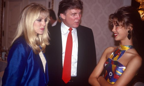 Teen models, powerful men and private dinners: when Trump hosted Look of the Year