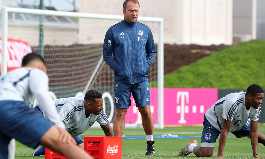 Bayern Munich to return to training on Monday 'in small groups'