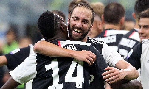Juventus return to the top after Gonzalo Higuaín seals win over Inter