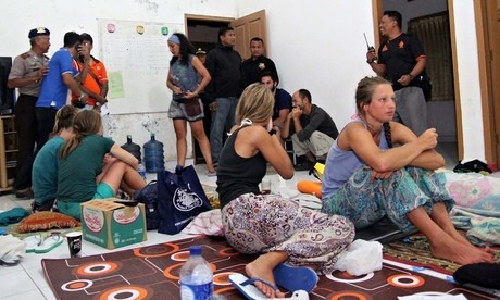 Two UK women on Indonesian ferry safe after swimming for eight hours