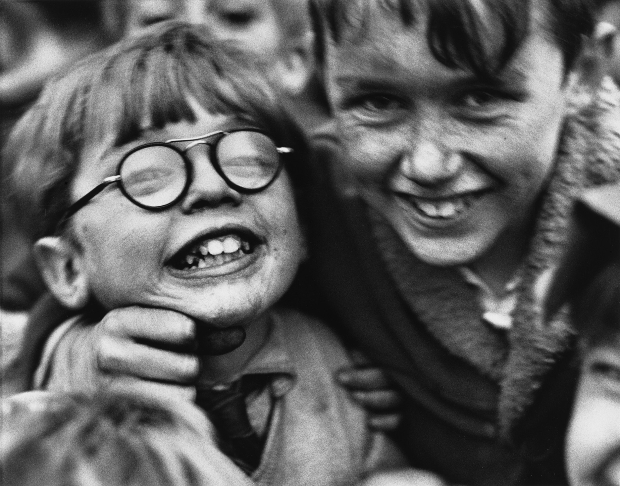 Laughter in the slums: the best work of street photographer Shirley Baker – in pictures