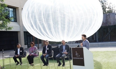 Google installing hundreds of internet-enabled balloons in Indonesia