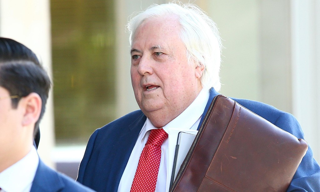 Clive Palmer's Queensland Nickel refinery traded while insolvent, judge finds