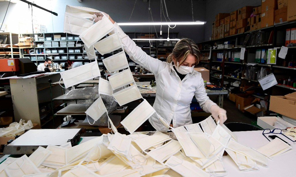 Prada the latest fashion brand to make medical face masks
