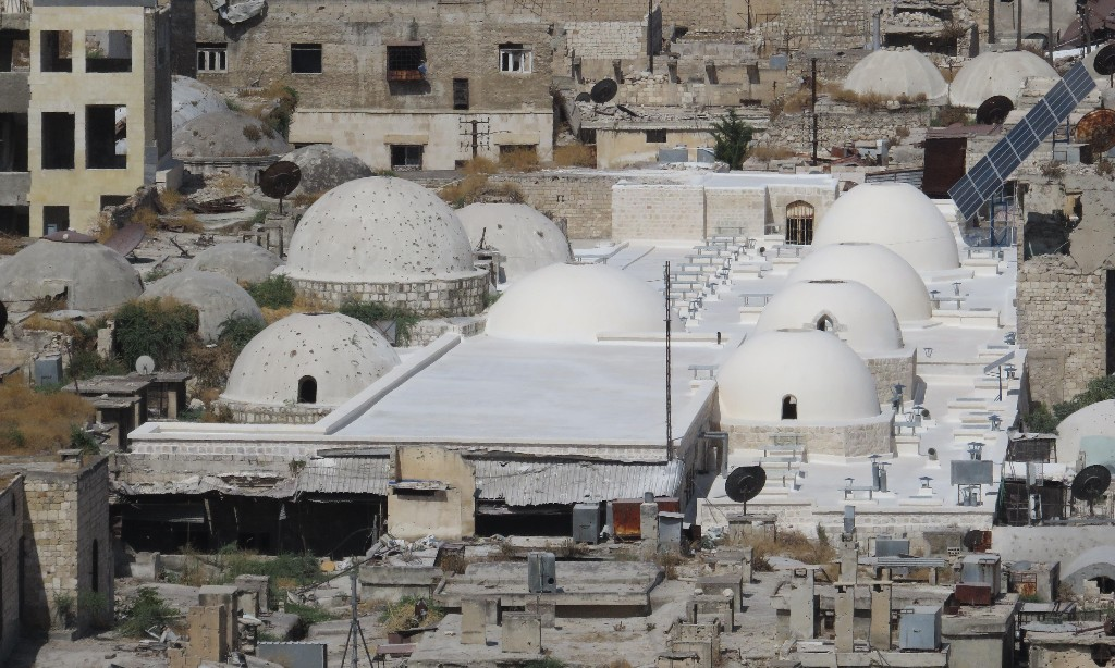 How Syria's blasted landmarks are starting to rise from the ruins