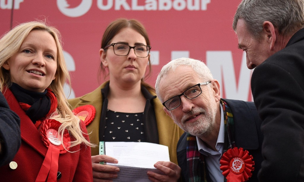 Labour - For The Many Not The Few - cover