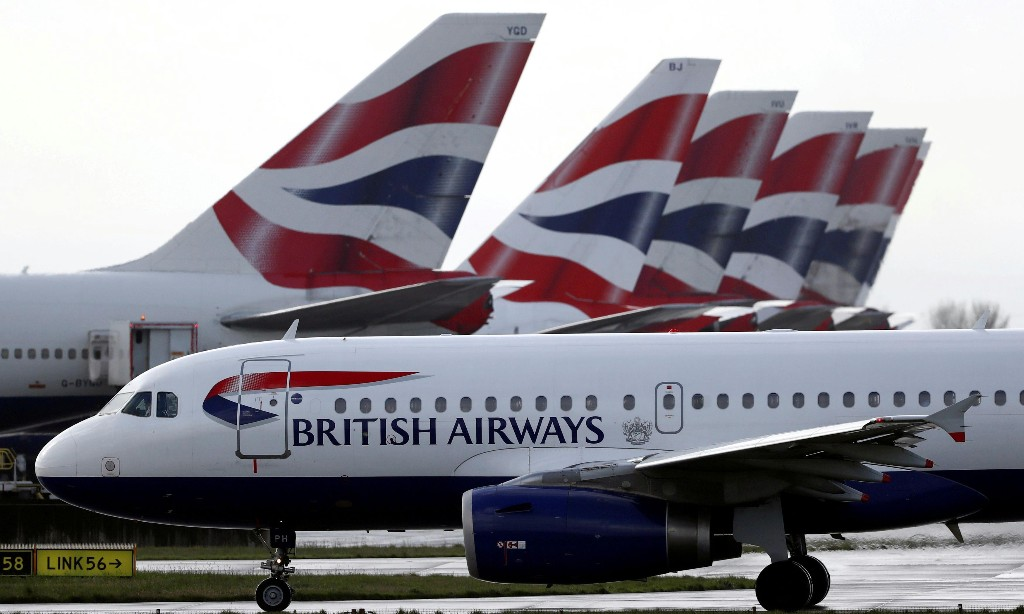British Airways suspends more than 30,000 staff while Heathrow shuts one runway