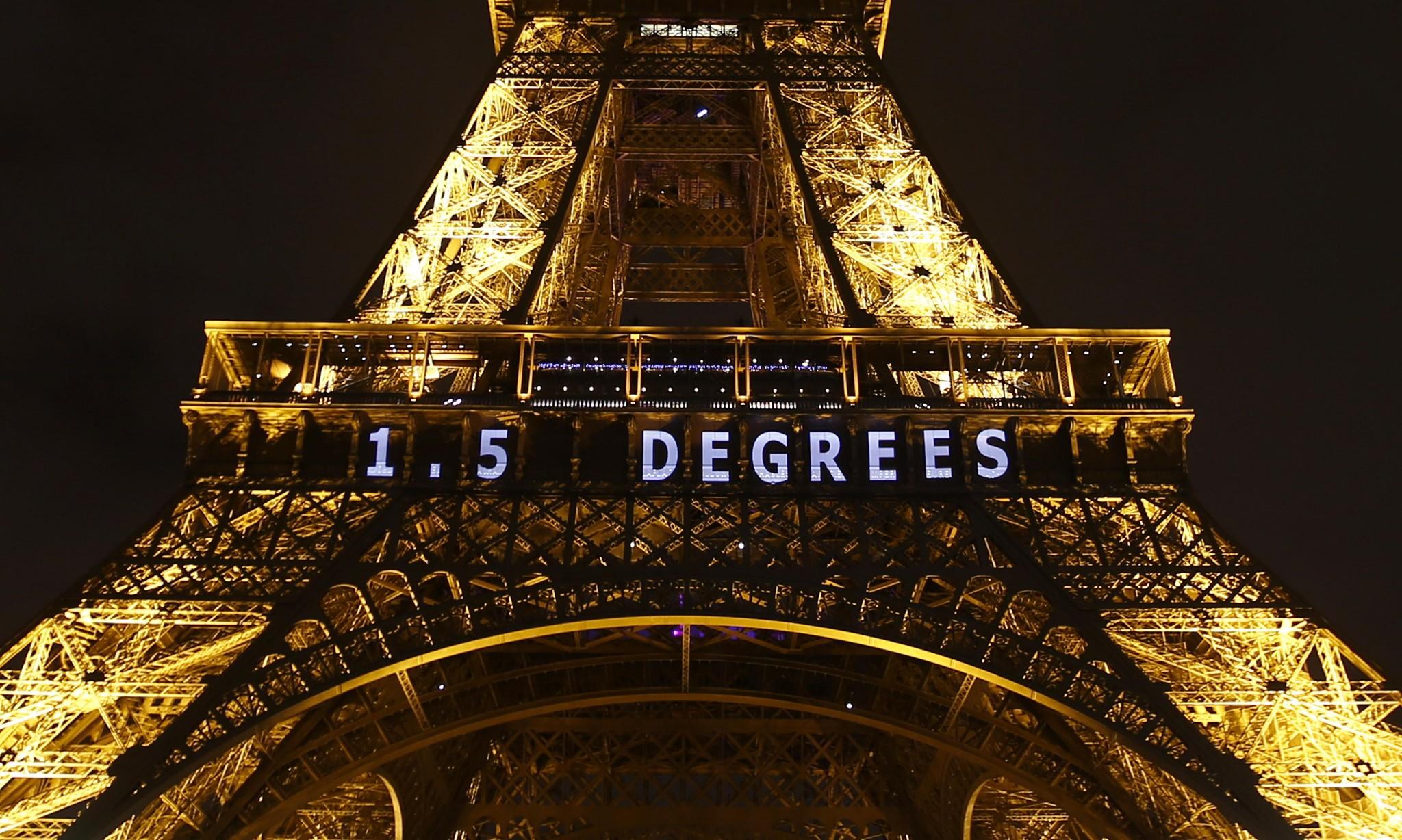 Paris climate change agreement enters into force