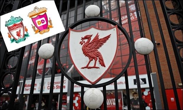 Dunkin' Donuts swaps Liverpool crest's Hillsborough flame with milkshakes