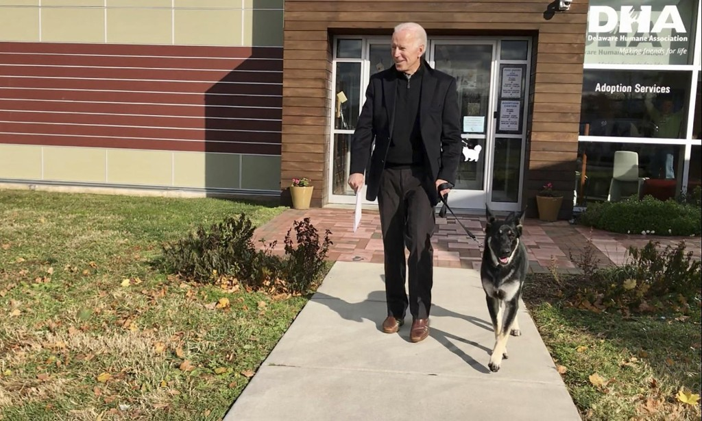 Joe Biden fractures foot after slipping while playing with dog