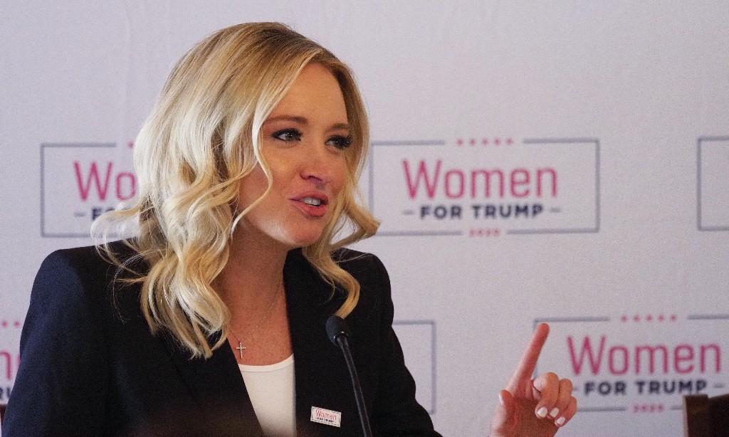 Kayleigh McEnany replaces Stephanie Grisham as Trump press secretary