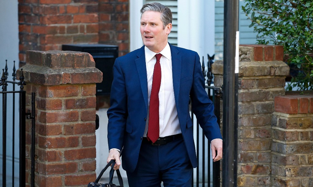 A conference call with his defeated rivals – then Keir Starmer was straight down to business