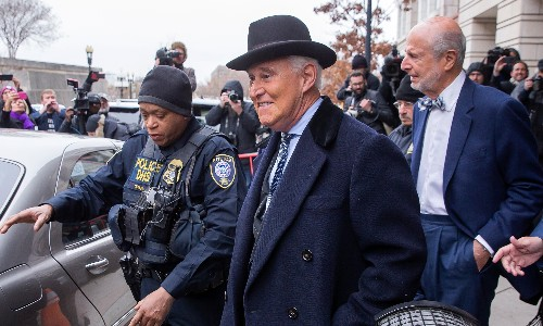 'This is not just Roger being Roger': Stone gets 40 months – and a scolding from the judge