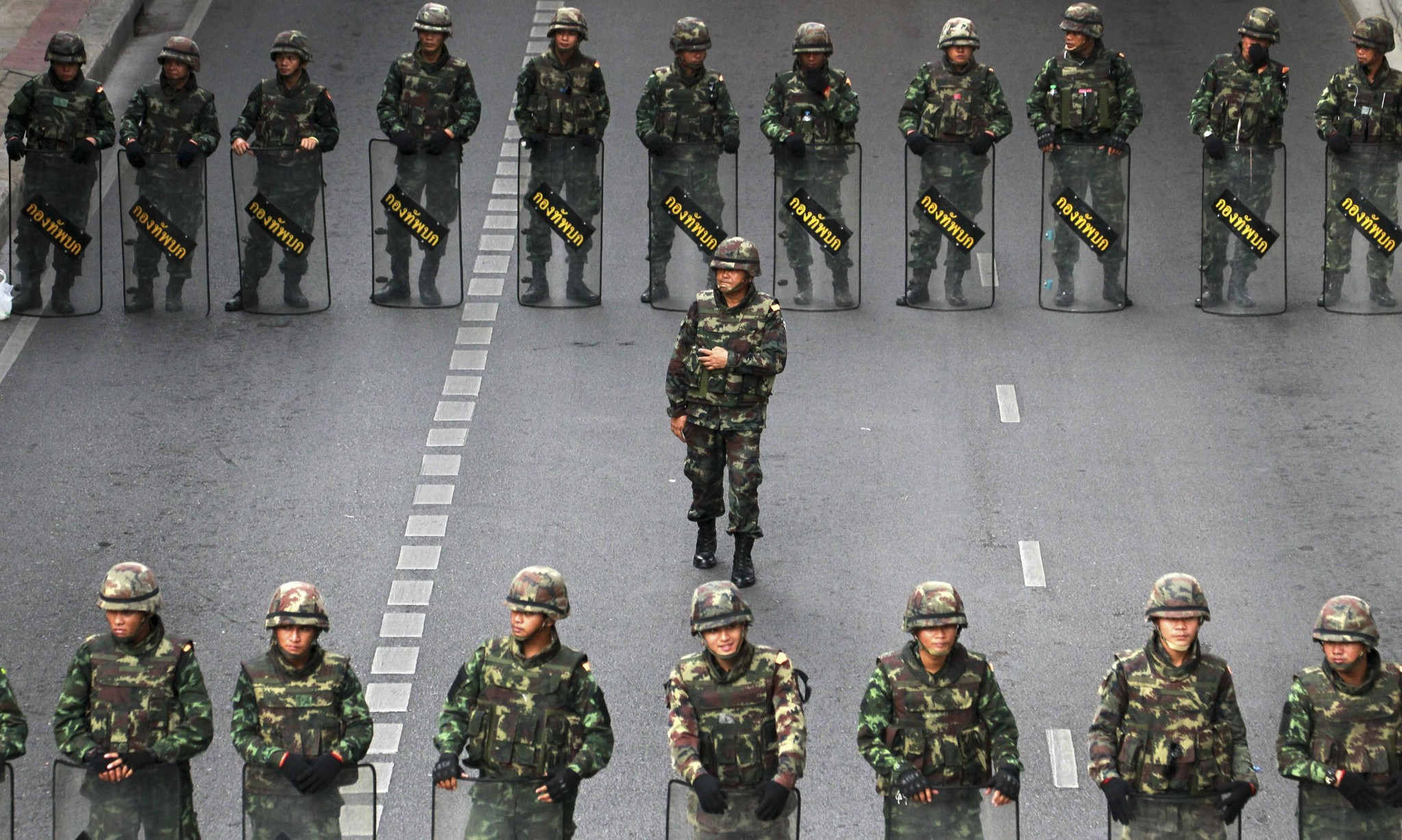 Shock as Thai junta gives army sweeping powers of arrest