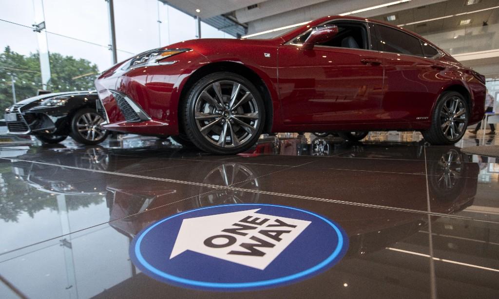 New car sales rise in UK after coronavirus lockdown decline