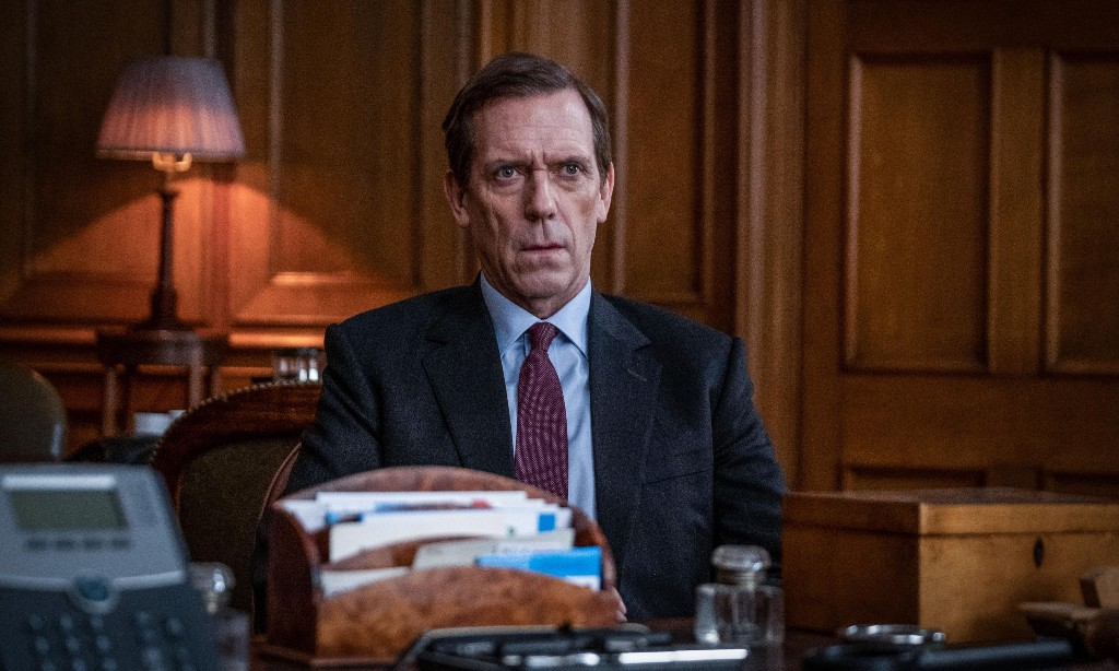 TV tonight: Hugh Laurie's scandalous MP takes on the press