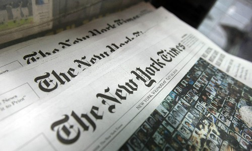 Florida county refuses to pay for New York Times in libraries: 'It's fake news'