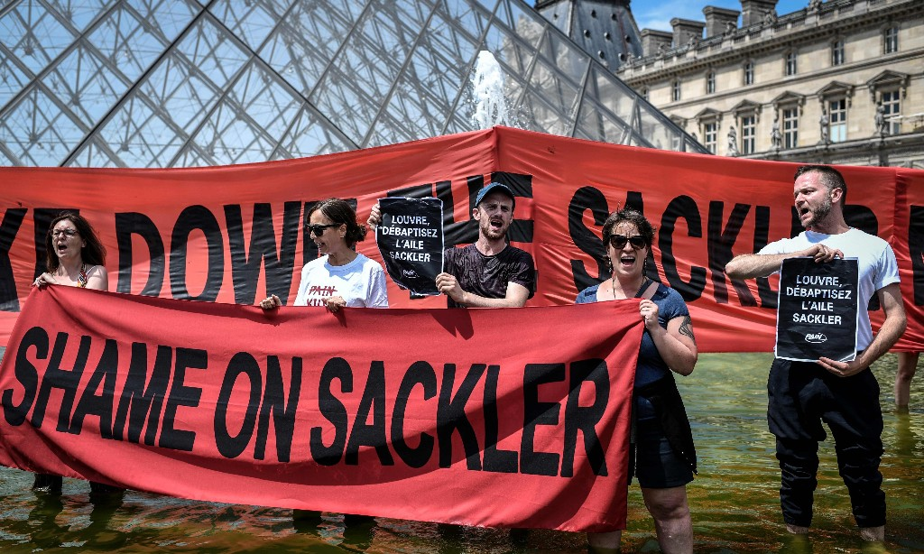 Activists see Purdue bankruptcy case as last chance to call Sacklers to account