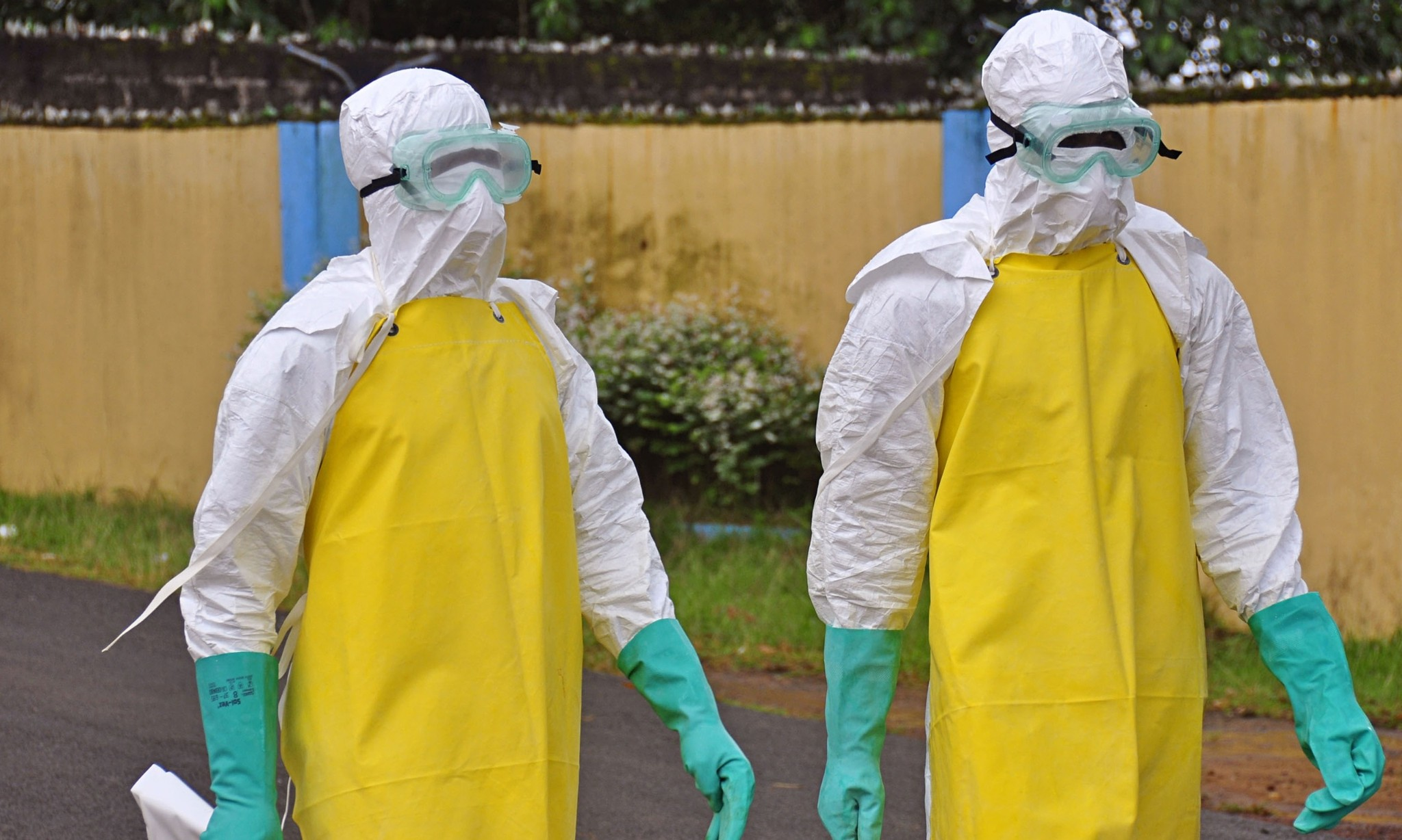 Ebola: life and death on the frontline