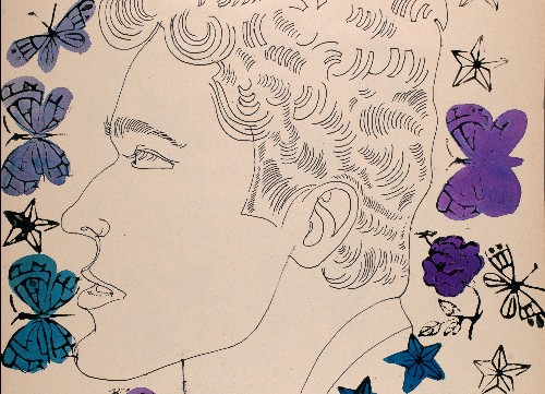 Andy Warhol's 1950s erotic drawings of men to be seen for first time
