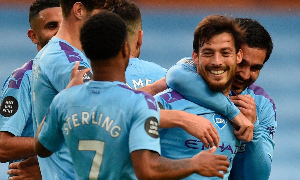 Manchester City thump Newcastle with David Silva in starring role