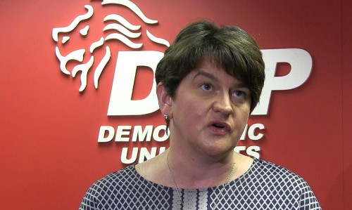 DUP's Arlene Foster rules out seeking Westminster seat