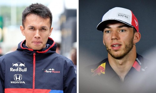 Red Bull promote Alexander Albon to replace Pierre Gasly for rest of F1 season