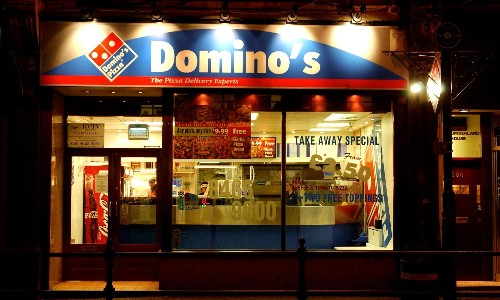 Domino's struggles as rival delivery services threaten to topple it