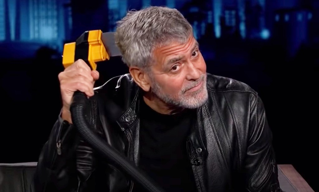 Go with the Flowbee: George Clooney reveals how he cuts his hair